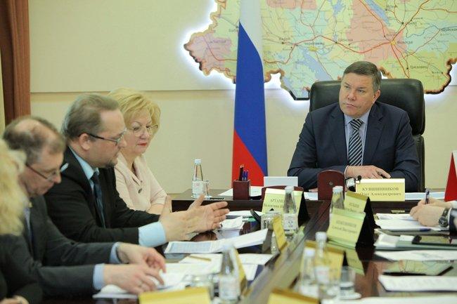 Совещание в Вологодской области