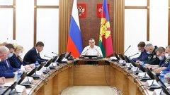 Губернатор Краснодарского края поручил разработать алгоритм взаимодействия волонтеров с полицией и спасателями