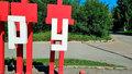 Пермский музей пожаловался в полицию на кражу двух букв арт-объекта «Слава труду»