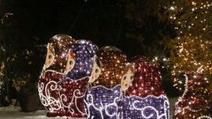 Новогодние подсветка и украшения в Нижнем Новгороде обойдутся в 15 миллионов рублей