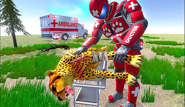 Real Doctor Robot Animal Rescue
