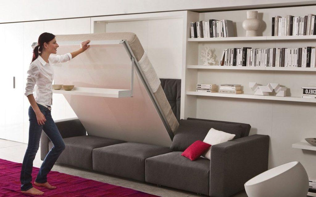 Кровать-трансформер гармонично впишется в любой интерьер