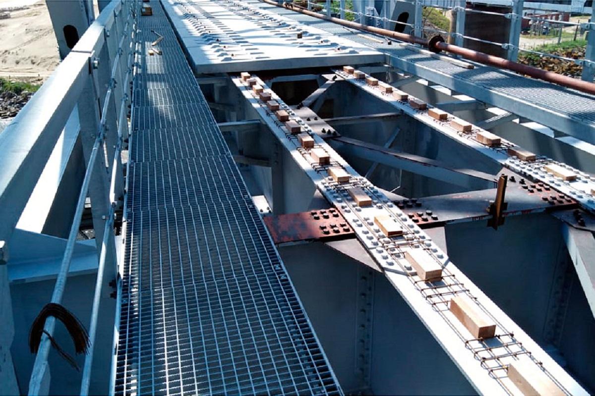 Конструкция моста через Дон, возводимого ГК СК Мост Руслана Байсарова